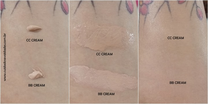 CC Cream Nivea e BB Cream Nivea