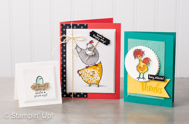 Order your Hey, Chick set as one of your free Sale-A-Bration gifts