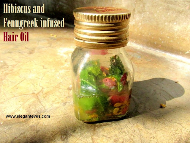 Hibiscus and Fenugreek Infused Hair Oil