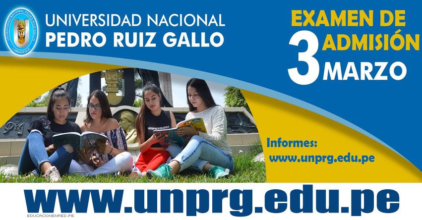Resultados UNPRG 2019-1 (3 Marzo) Lista Ingresantes Examen Admisión Ordinario - Universidad Nacional Pedro Ruiz Gallo - Lambayeque - www.unprg.edu.pe
