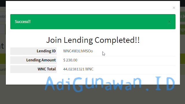 Coin Program Lending WesternCoin