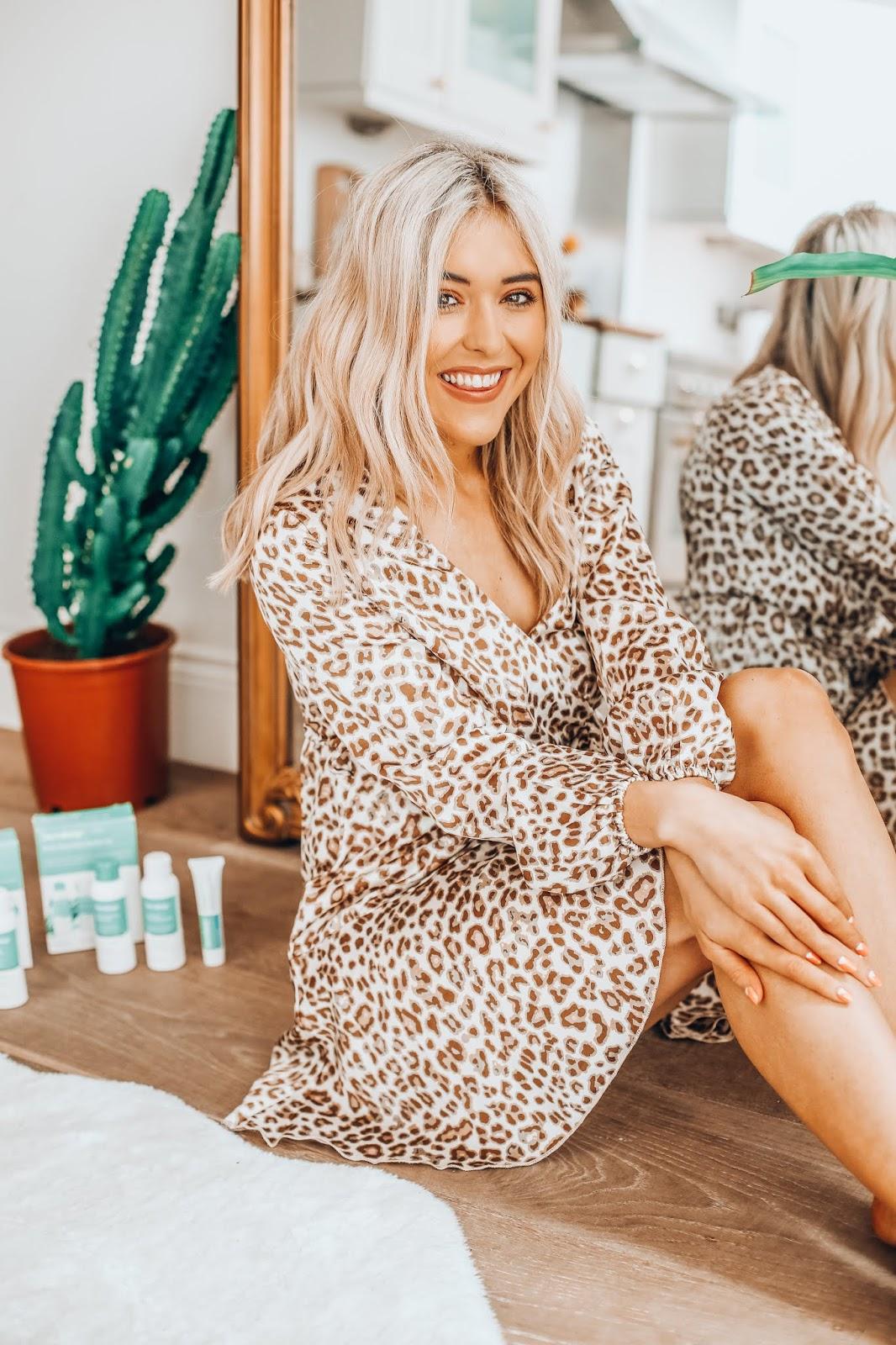 nastygal leopard print dress