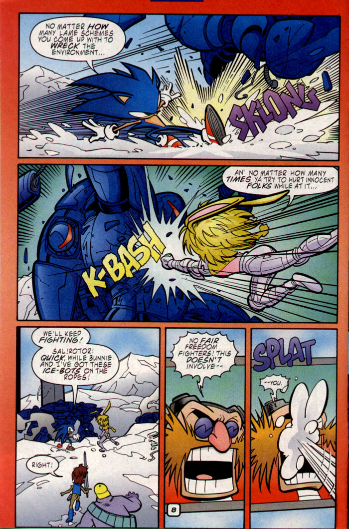 Read online Sonic The Hedgehog comic -  Issue #109 - 10