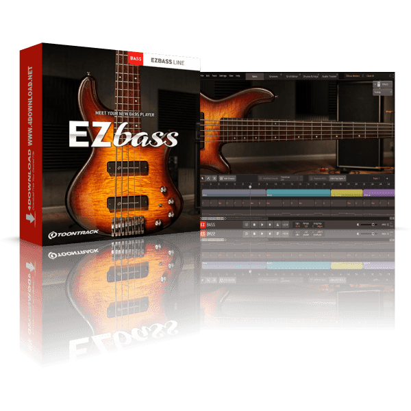 Toontrack EZbass v1.0.9 Full version