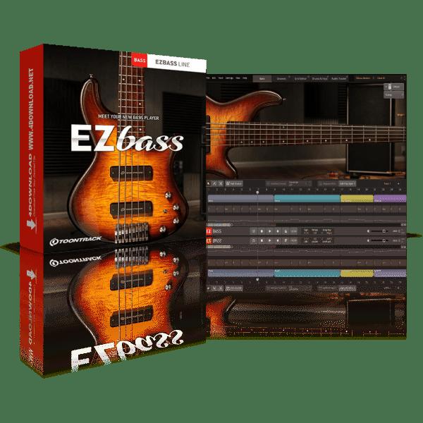 Toontrack EZbass v1.1.1 Full version