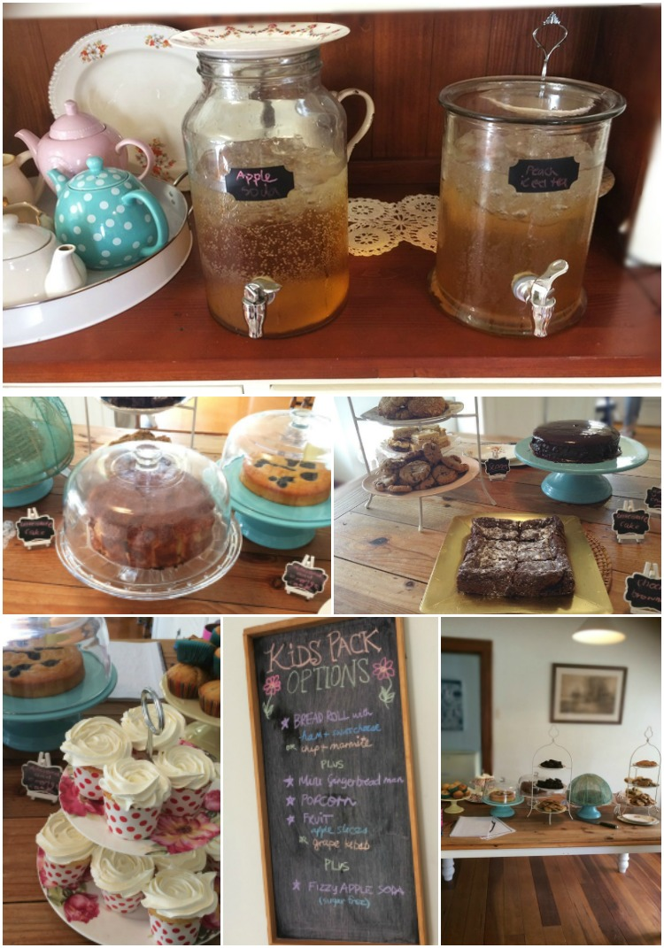 Pop Up Garden cafe Goodies - homebaked and easy