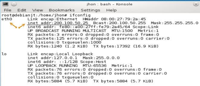 Cara Membuat IP Address, Debian Linux, IP Address Versi 4, Setting IP Address Statik Pada Debian