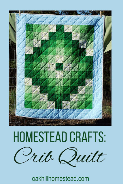 "Crib quilt - homestead crafts are both beautiful and relaxing to work on. ""In the Jungle"" crib quilt.    #cribquilt #quilt #handquilting"