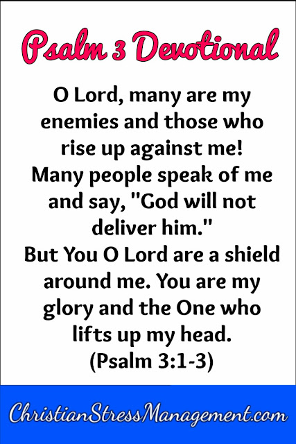 Psalm 3 O Lord many are my enemies and those who rise up against me!