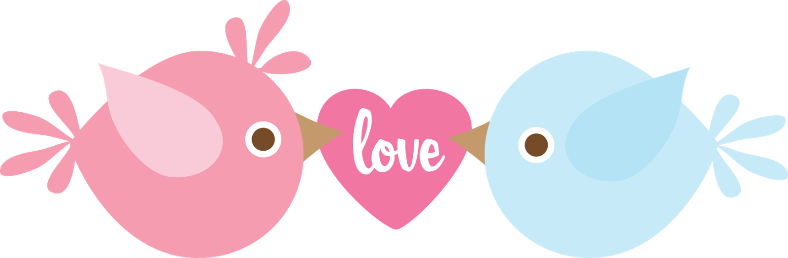 Free Printable Love is in the Air Clipart.