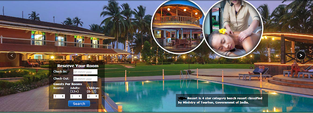 a hotel booking in goa