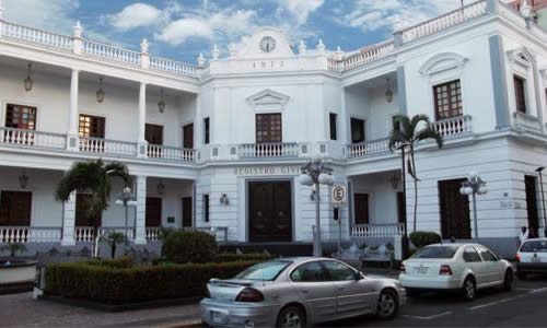 Edificio del Registro Civil en Veracruz