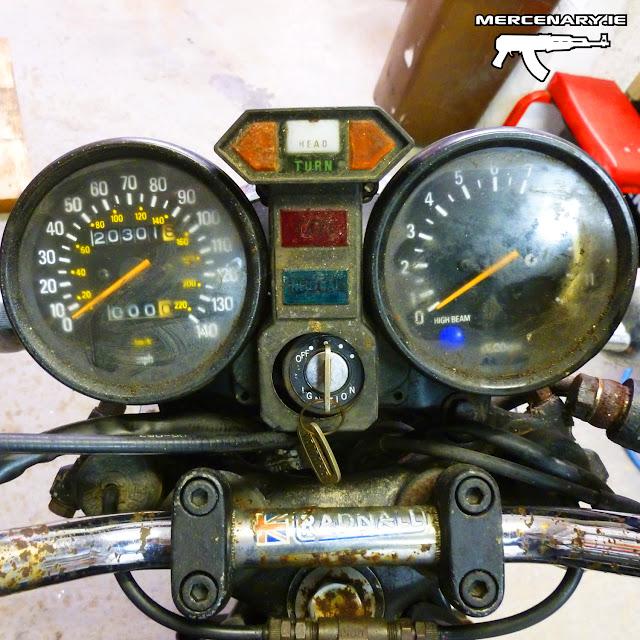 Mercenary Garage - Project XS 850