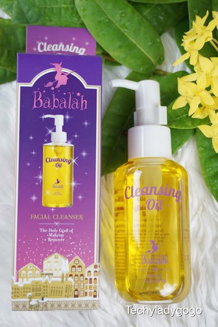 Review Babalah Cleansing Oil รีวิวบาบาร่า คลีนซิ่งออยล์ น้ำมันล้างหน้าสะอาดล้ำลึก