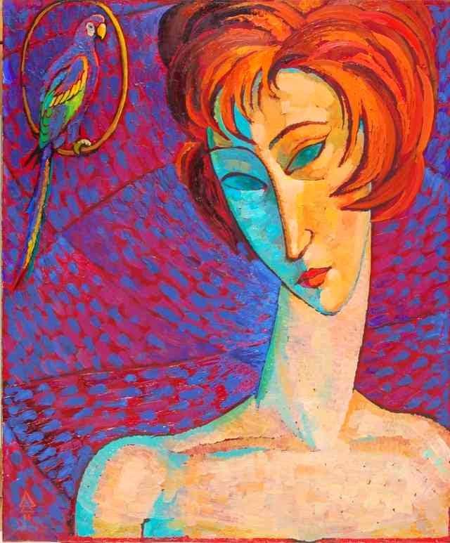 Живописная мозаика. Dmytro Dobrovolsky