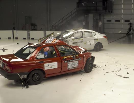 Crash test δείχνει την διαφορά του φθηνότερου Nissan που πωλείται στο Μεξικό και του φθηνότερου Nissan των ΗΠΑ (Video)