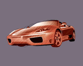 HOW TO DRAW A FerrariPrestige