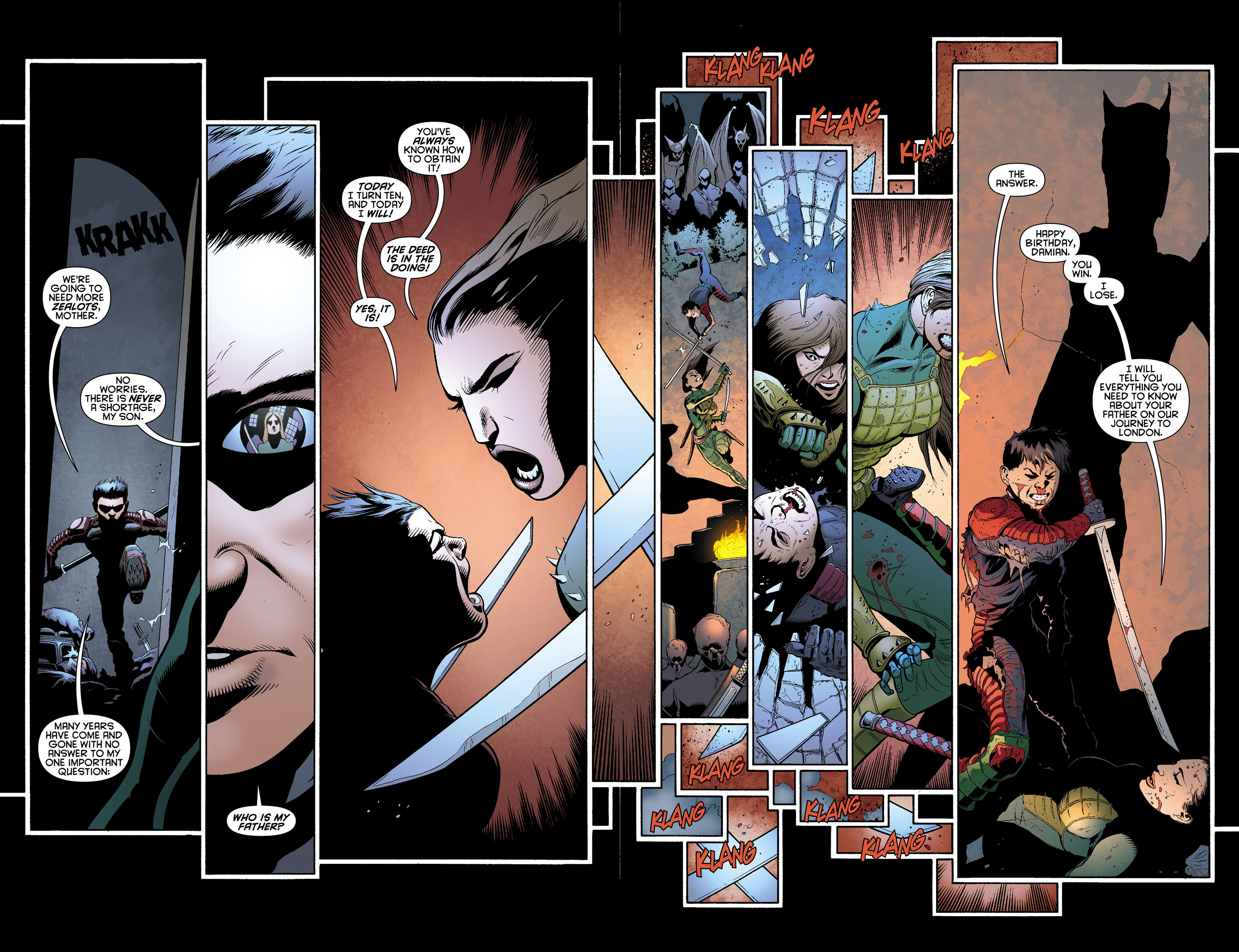 Read online Batman and Robin (2011) comic -  Issue #0 - 15