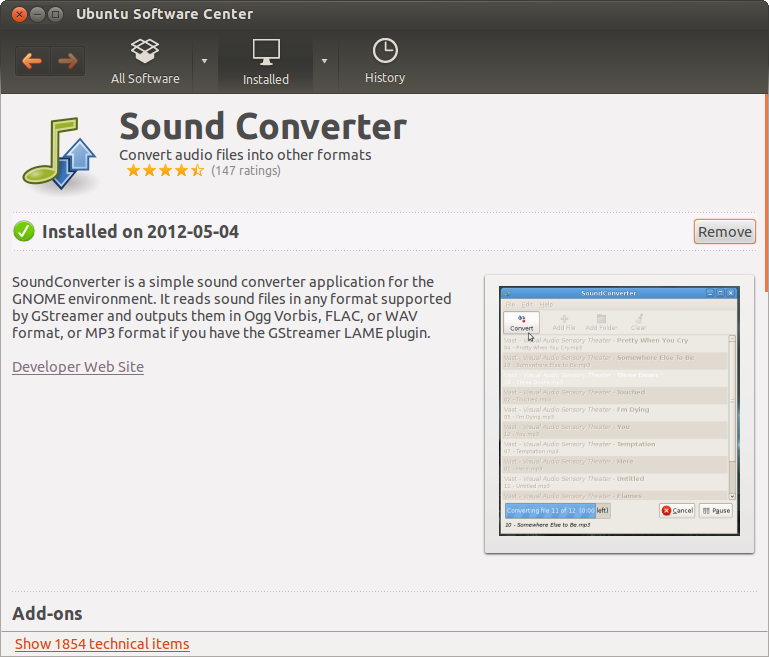 Convert Flac to MP3 in Linux - Sound Converter and LAME