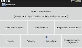 RouterCheck verifique a rede Wi-fi