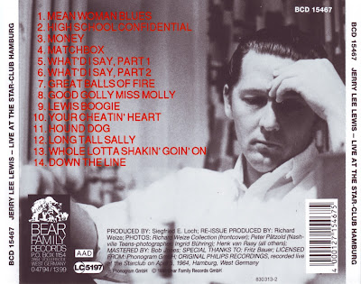 Jerry Lee Lewis - Live At The Star Club Hamburg 1964