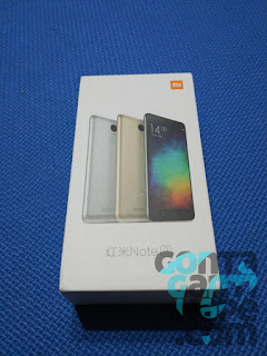 Xiaomi Redmi Note 3 Indonesia - Box Kemasan
