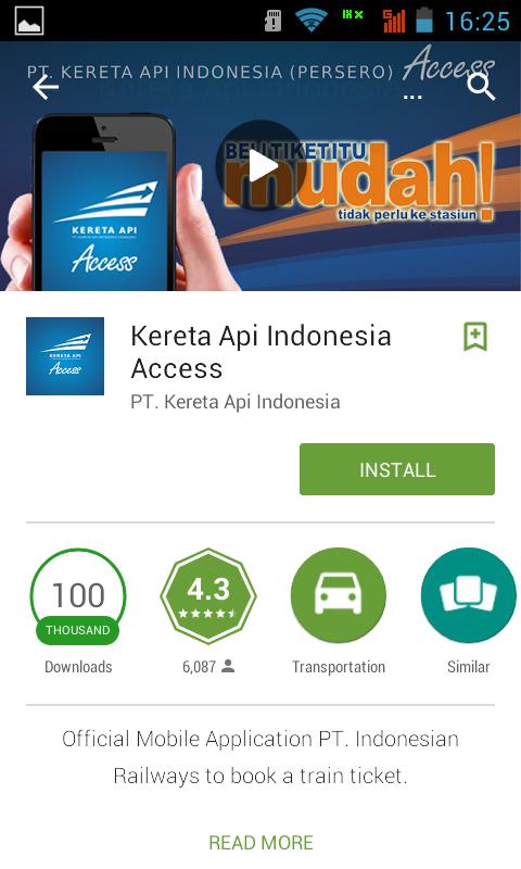 Aplikasi Android Terbaru 2015 - Tiket Kereta Api