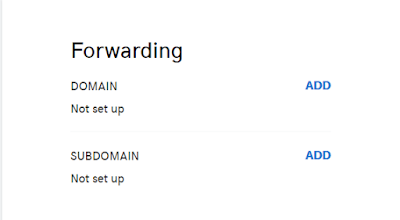 Forwarding your custom domain