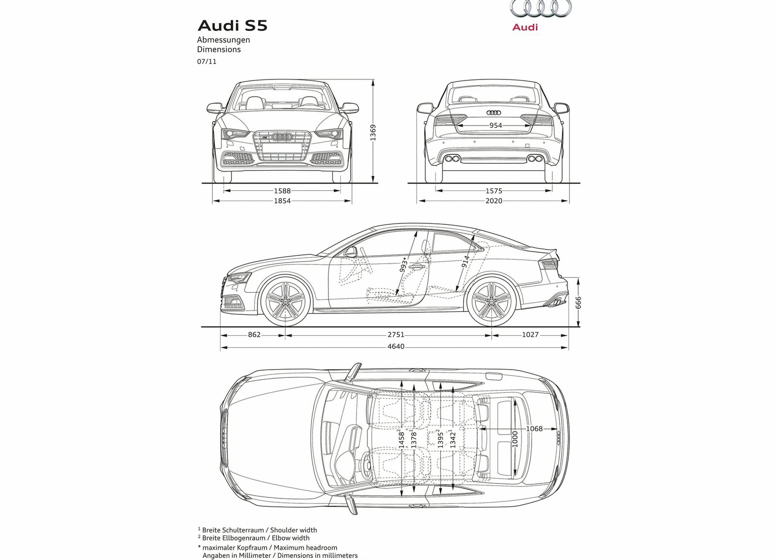 2012 Audi S5 HD wallpaper