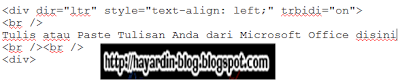 Cara Membuat Postingan di Blog