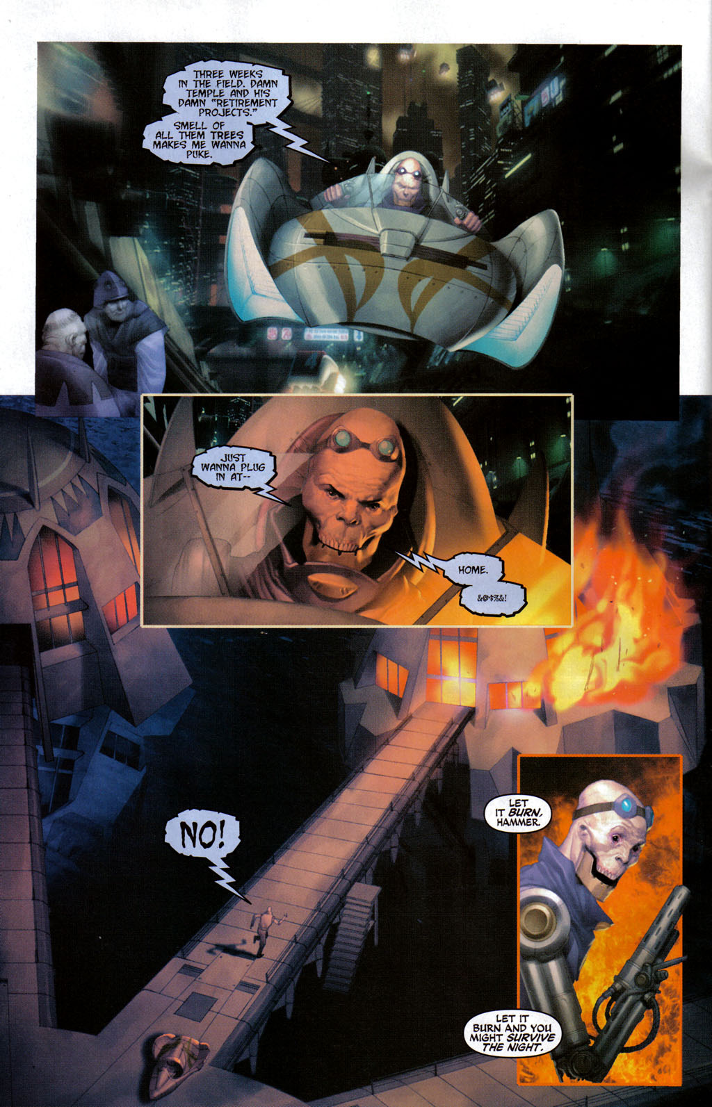 Read online Space Ghost (2005) comic -  Issue #3 - 3