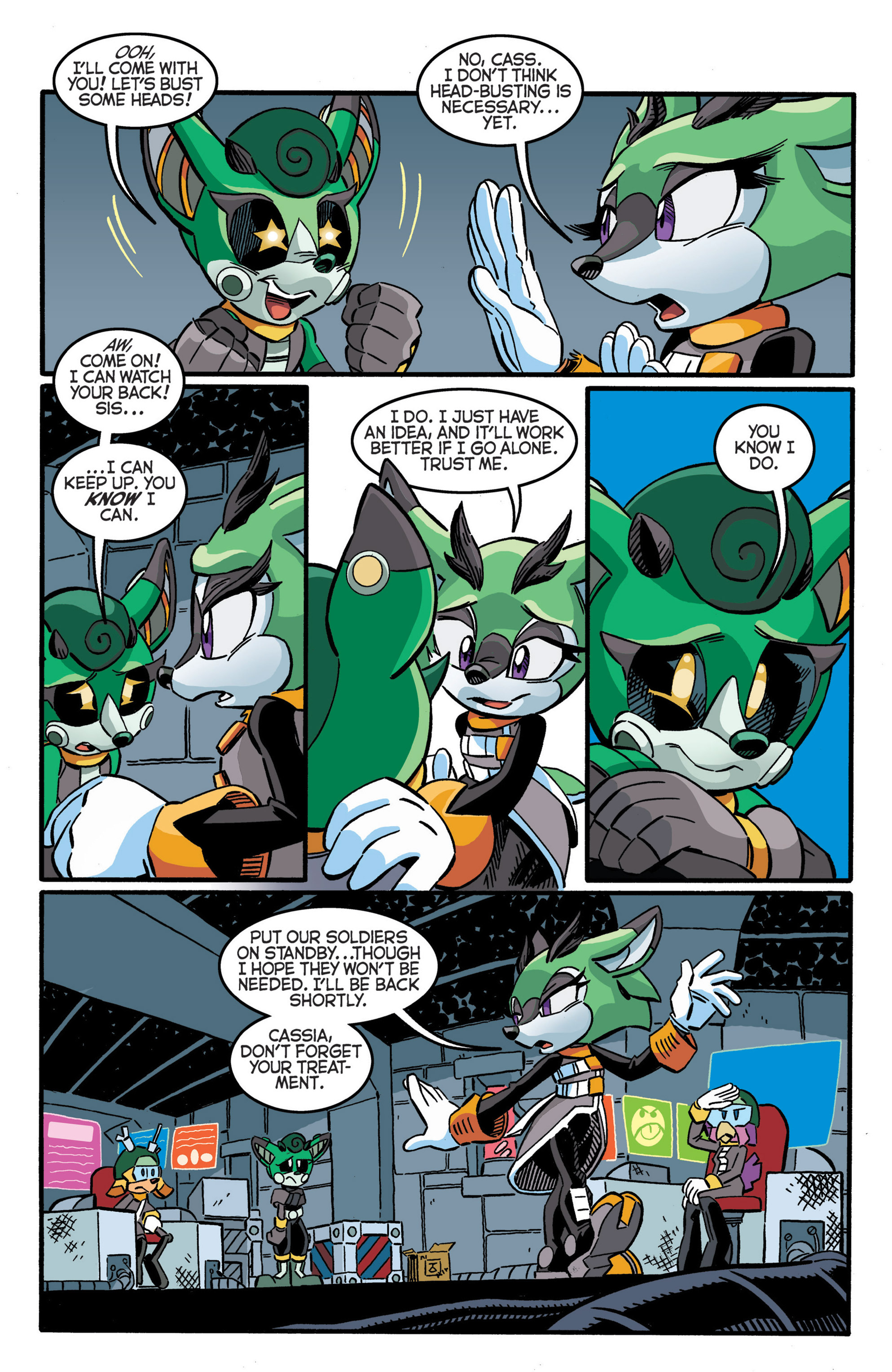 Read online Sonic The Hedgehog comic -  Issue #277 - 17