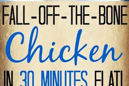 Fall-Off-The-Bone Pressure Cooker Chicken