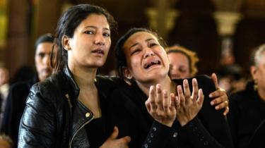 Coptic Christian Church celebrate good Friday while mourning in Egypt
