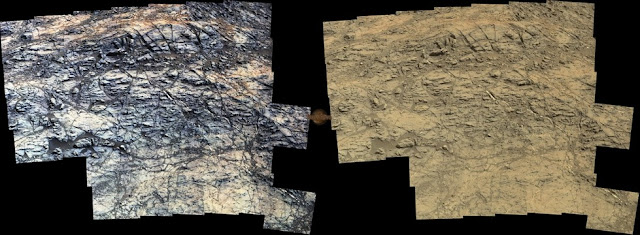 Sol 1189 Curiosity Left Mastcam (M-34) Pahrump Hills