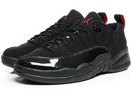 factory price c918d 80b0c Wake'N'Lace: DON'T FORGET: Air Jordan Retro 12 Low Black/Patent