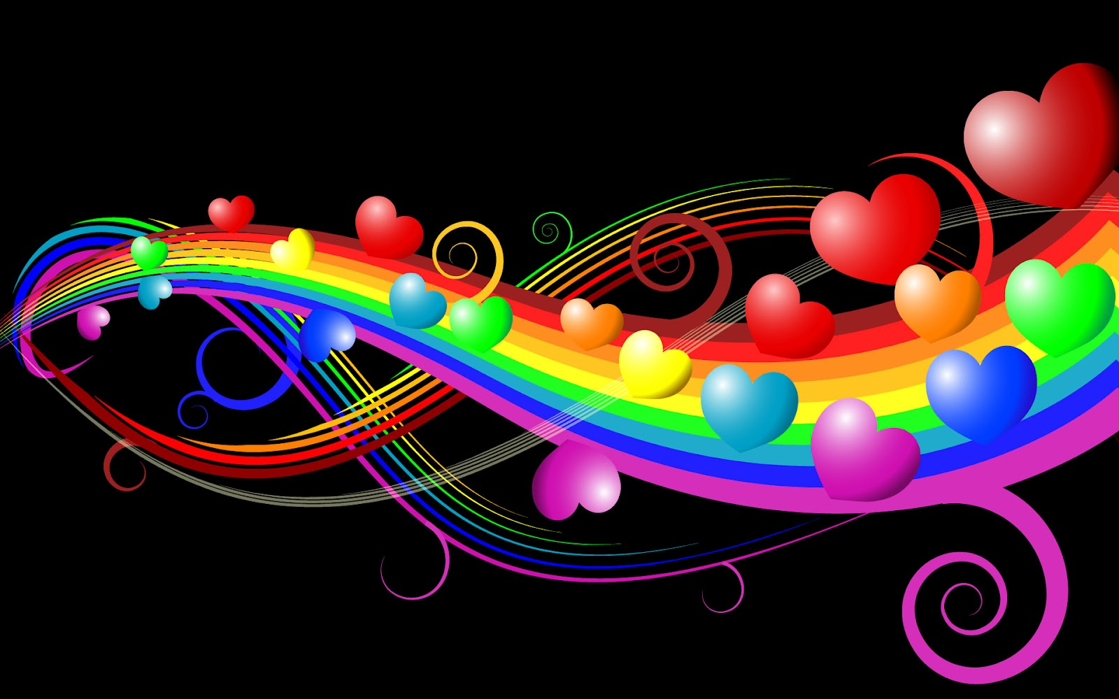 Info Wallpapers: i love music wallpapers