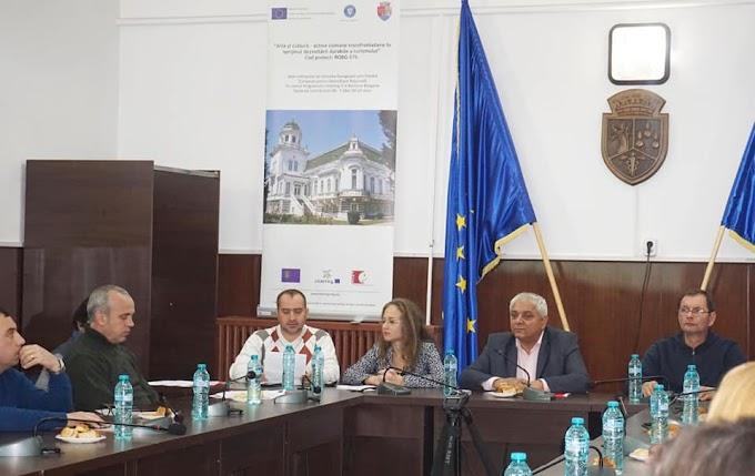 """Primăria Municipiului Calafat a organizat o conferinţă de presă de lansare a proiectului """"Artă și cultură"""""""