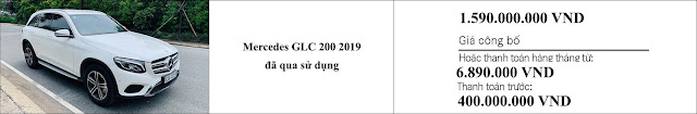 Giá xe Mercedes GLC 200 2019 hấp dẫn bất ngờ