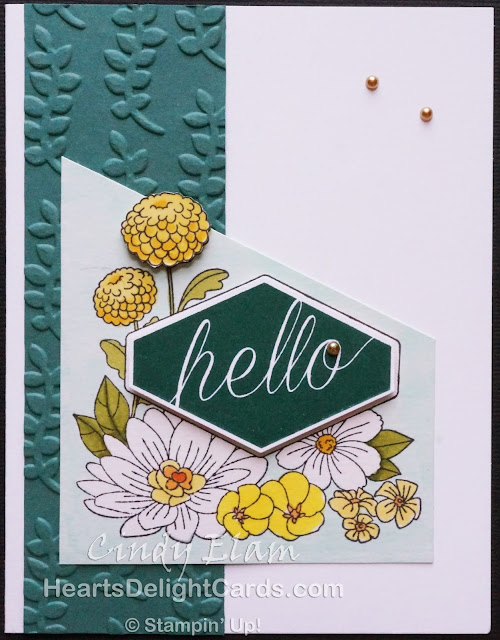 Heart's Delight Cards, Accented Blooms, Hello, Stampin' Up!