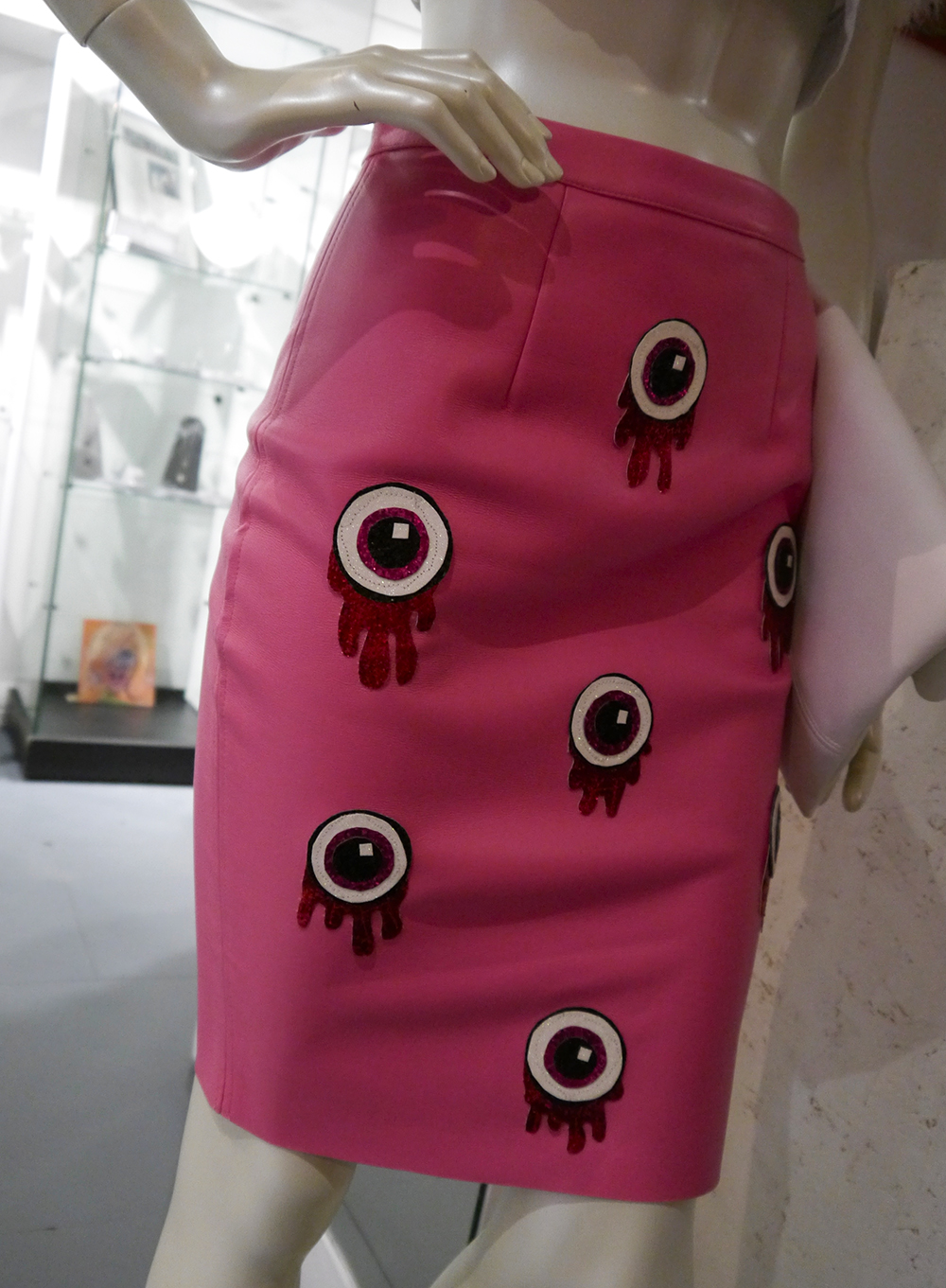 The Scottish Design Exchange, Edinburgh shopping, alternative shopping in Edinburgh, Ocean Terminal, fashion, Scottish fashion blogger, Never Monday, eyeball skirt