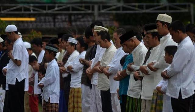 Khatib Singgung Kasus Penodaan Agama, Jemaah Salat Ied Bubar