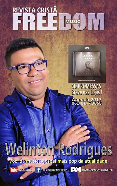 WELINTON RODRIGUES NA REVISTA  FREEDOM MUSIC