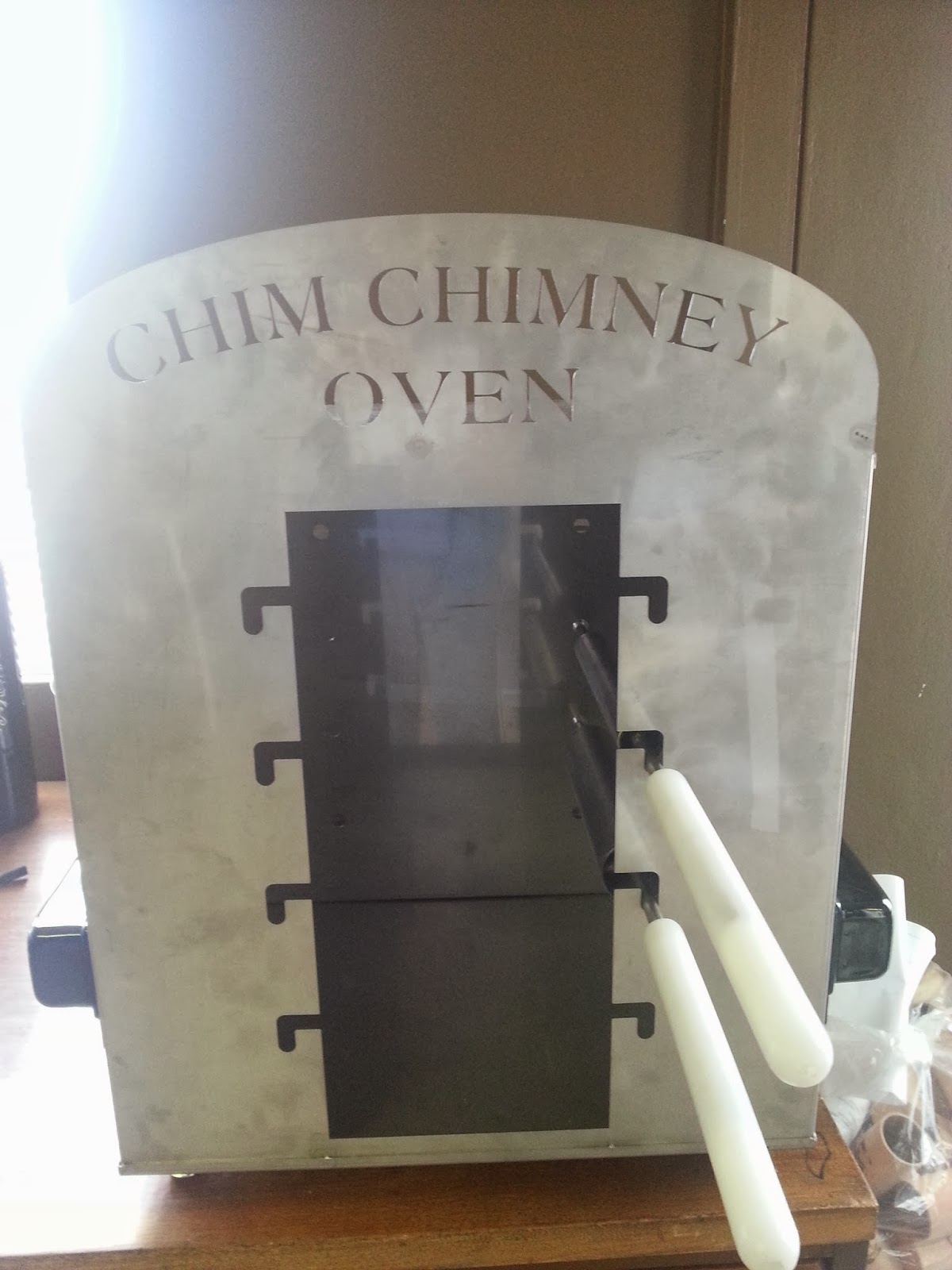 Stand Up Gas Scooter: Chimney Cake Gas Oven