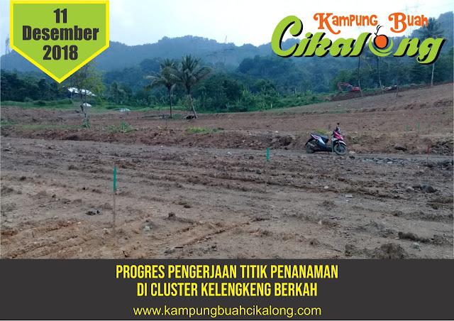progress kampung buah cikalong