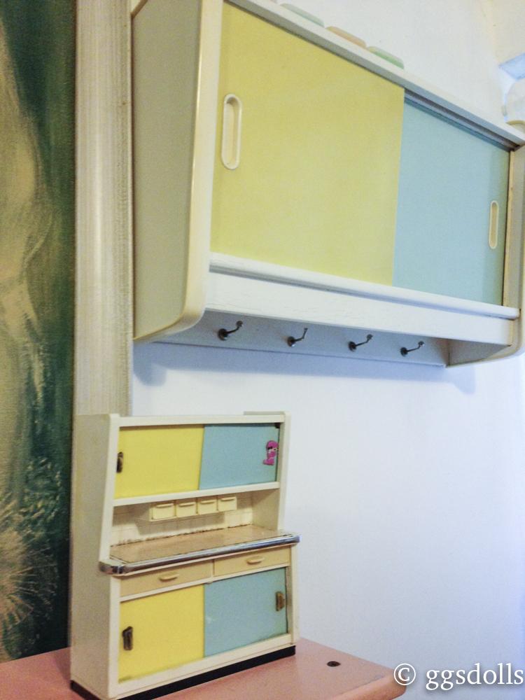 ggsdolls: Vintage Mid Century Modern Wall Cabinet from ...
