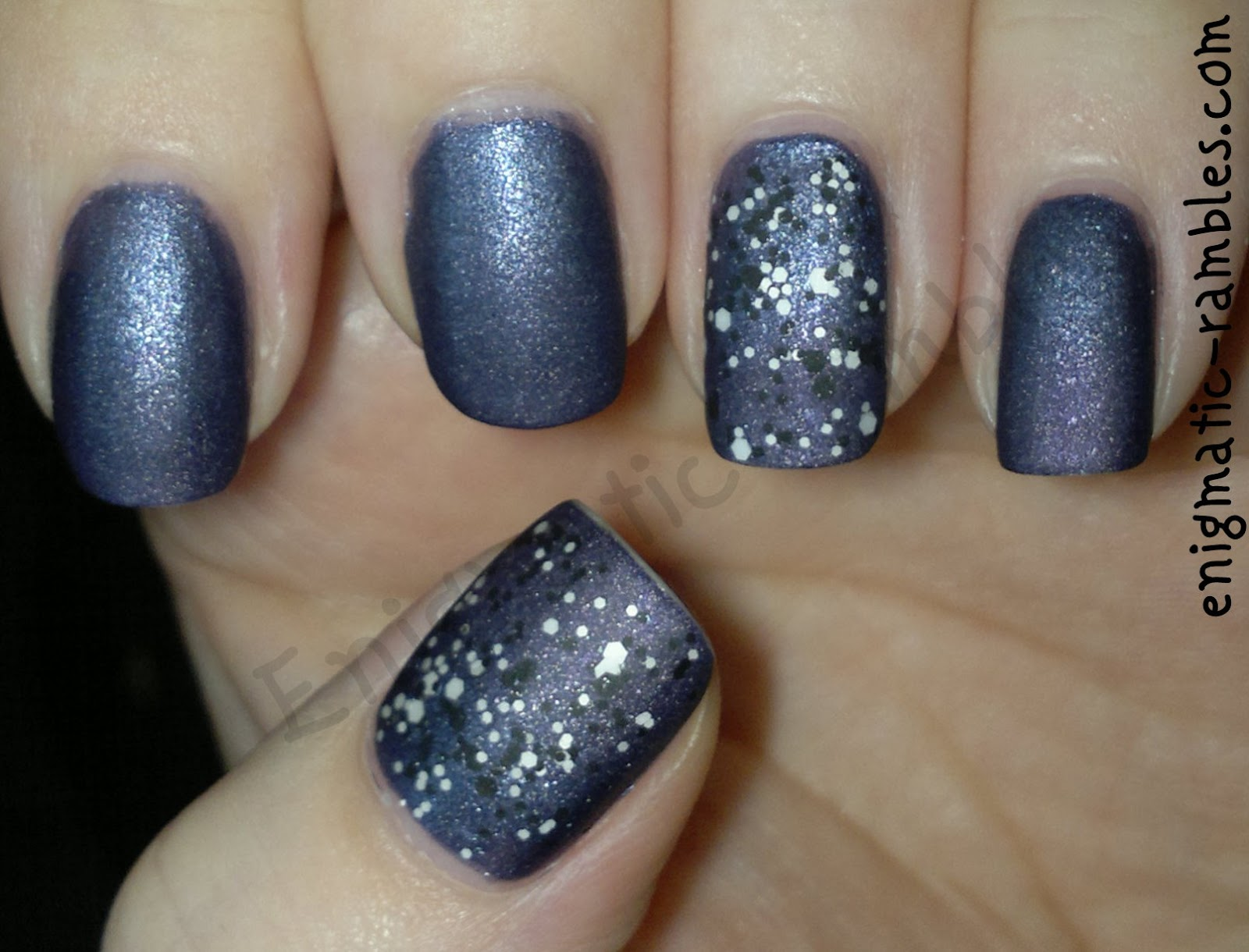 glossy-confetti-l'oreal-top-coat-max-factor-meteorite-41-a-england-lady-of-the-lake-matte-george