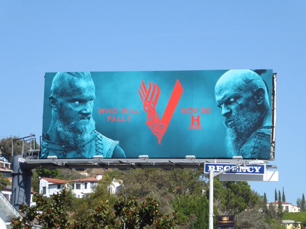 Vikings season 4 midseason billboard