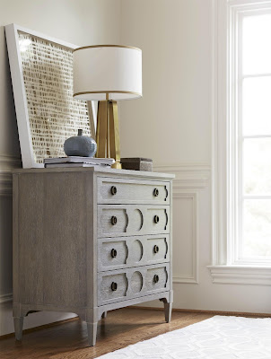 gray chest from Baer's Furniture