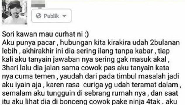 Viral di Instagram, Curhatan Pria Ini Awalnya Curiga Pacarnya Selingkuh, Endingnya Malah Bikin Melongo